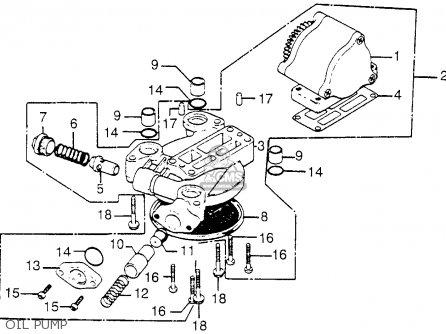 Honda Cb750k 750 Four K 1976 Usa parts list partsmanual