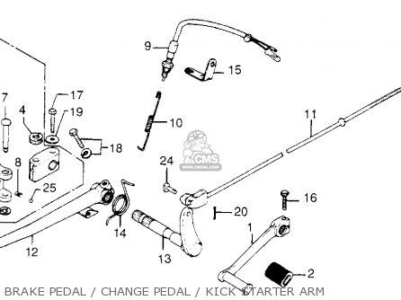 K Z 750 Kick Start Wiring Diagram