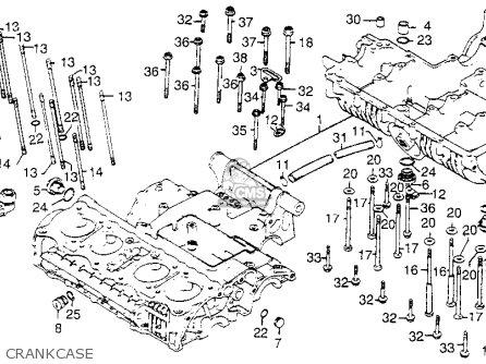 Honda Cb750k 750 Four K 1977 Usa parts list partsmanual