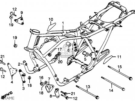 Honda CB750K 750 FOUR K 1979 (Z) USA parts lists and