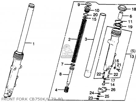 1975 Honda Cb750 Wiring Diagram 1975 Honda CB750 Bobber