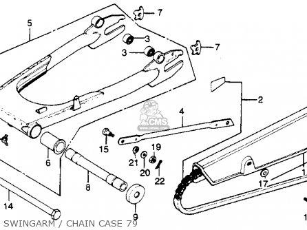 Honda Cb750k 750 Four K 1979 (z) Usa parts list