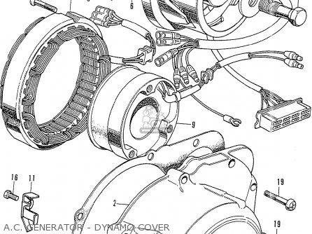 Honda CB750K0 FOUR FRANCE parts lists and schematics