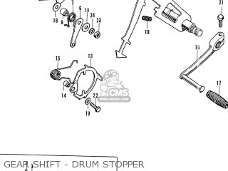 Honda CB750K0 FOUR FRANCE parts lists and schematics