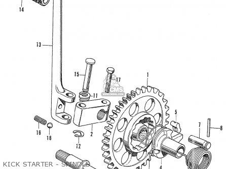 Honda Cb750k0 Four France parts list partsmanual partsfiche