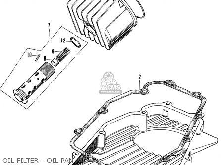 Honda Cb750k1 Four European Direct Sales parts list