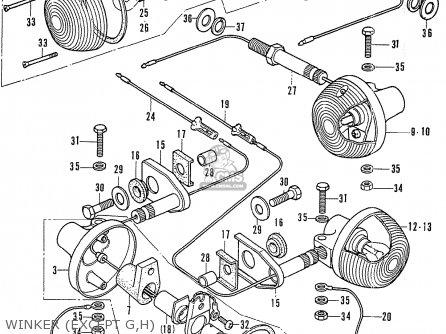 Honda CB750K1 FOUR EUROPEAN DIRECT SALES parts lists and