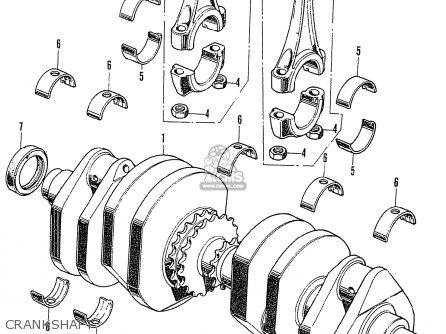 Honda CB750K1 FOUR NETHERLANDS parts lists and schematics