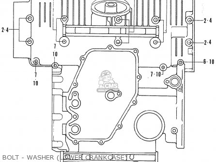 Honda Cb750k1 Germany parts list partsmanual partsfiche