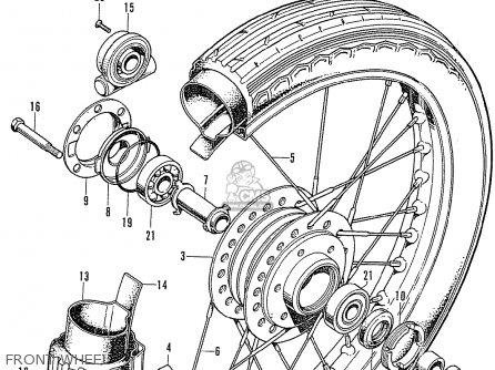 Honda CB750K1 GERMANY parts lists and schematics