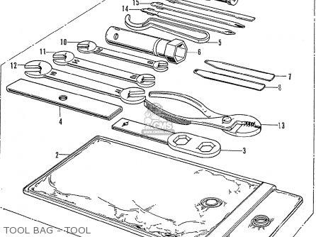 Honda Cb750k1 Germany parts list partsmanual partsfiche