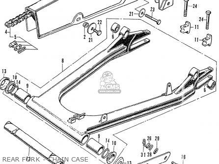 Honda Cb750k2 Australia parts list partsmanual partsfiche
