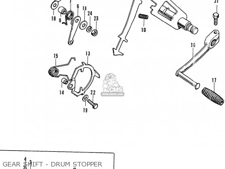 Honda CB750K2 FOUR 1972 USA parts lists and schematics