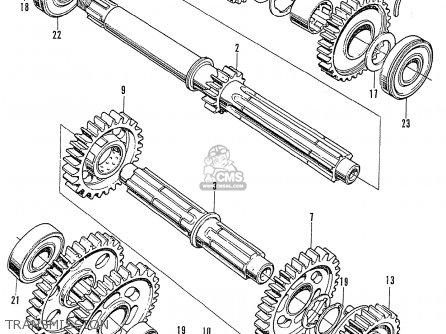 Honda CB750K2 FOUR GENERAL EXPORT parts lists and schematics