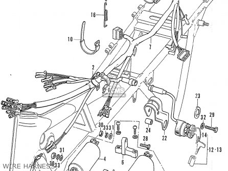 Honda CB750K2 FOUR GERMANY parts lists and schematics