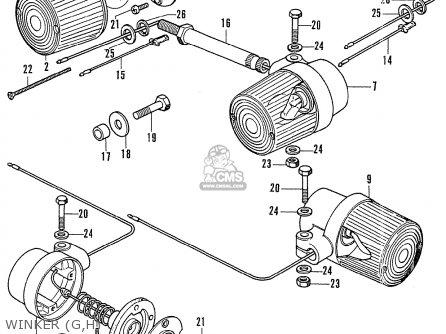 Honda CB750K2 FOUR NETHERLANDS parts lists and schematics
