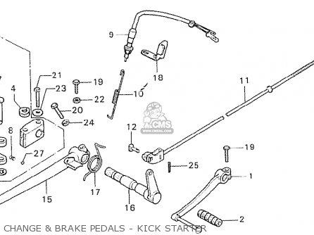 Honda Cb750k6 Four European Direct Sales parts list