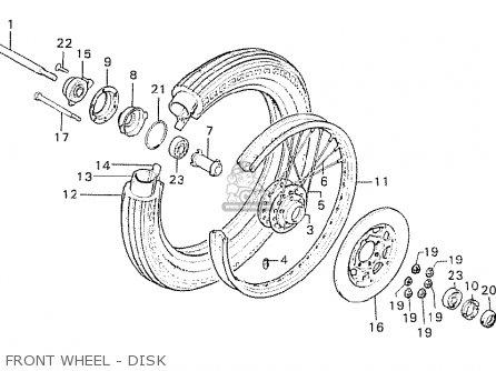 Honda CB750K6 FOUR EUROPEAN DIRECT SALES parts lists and