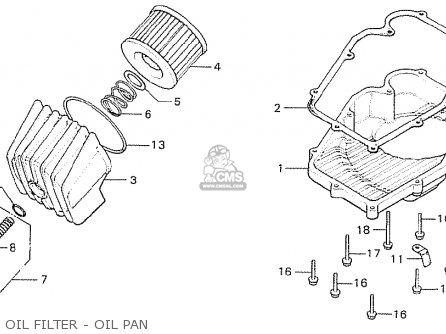 Honda Cb750k6 Four France parts list partsmanual partsfiche