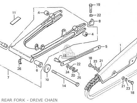 Honda CB750K6 FOUR FRANCE parts lists and schematics