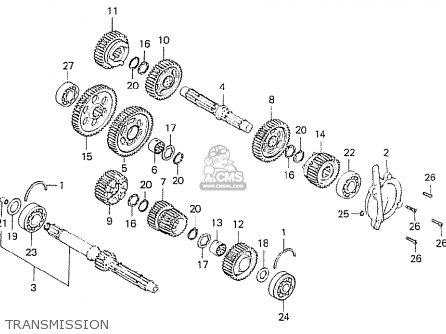 Honda CB750K6 FOUR USA parts lists and schematics