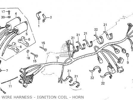 Honda Cb750k7 Four England parts list partsmanual partsfiche