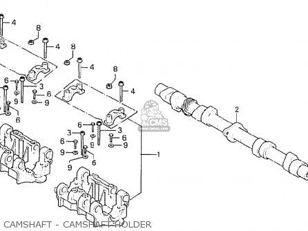 Honda Cb750k7 Four European Direct Sales parts list
