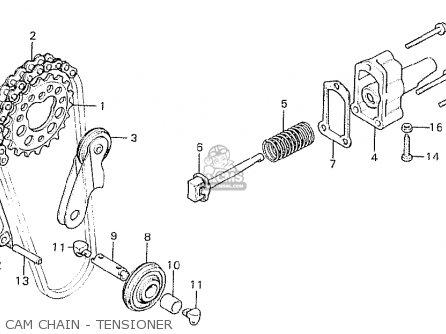 Honda CB750K7 FOUR GENERAL EXPORT KPH parts lists and