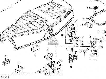 Honda Cb750k7 Four General Export Kph parts list