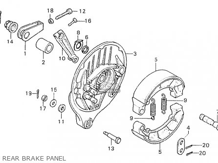 Honda CB750K7 FOUR GERMANY parts lists and schematics