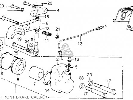 Honda CB750K8 FOUR 1978 USA parts lists and schematics