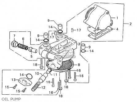 Honda Cb750k8 Four Canada parts list partsmanual partsfiche