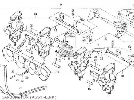 Honda Cb750k8 Four Usa parts list partsmanual partsfiche