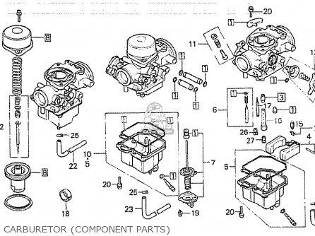 Honda Cb750kb 1981 Four (france) parts list partsmanual