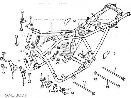 Honda Cb750kz 1979 Four (france) parts list partsmanual