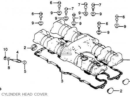 Honda CB750L LIMITED 1979 (Z) USA parts lists and schematics