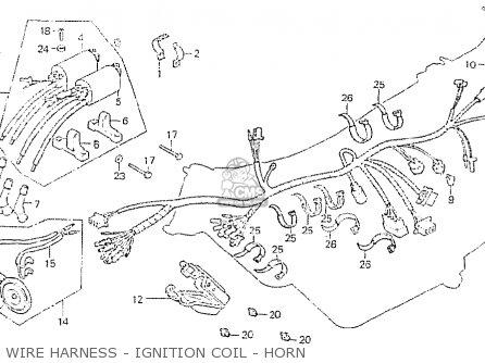 Honda CB750P7 GENERAL EXPORT TYPE 6 KPH parts lists and