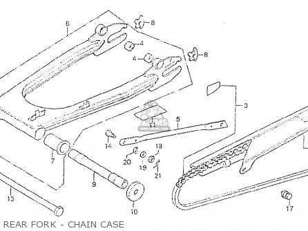 Honda Cb750p7 General Export Type 7 Kph parts list