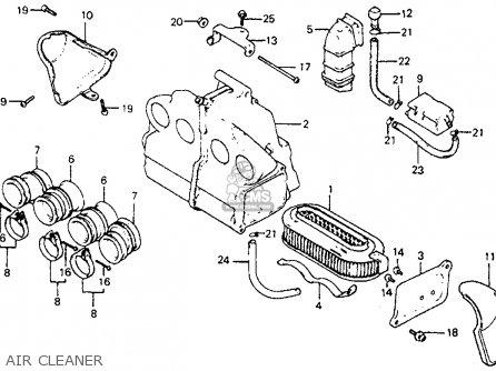 Honda Cb750sc Nighthawk 750 1982 (c) Usa parts list