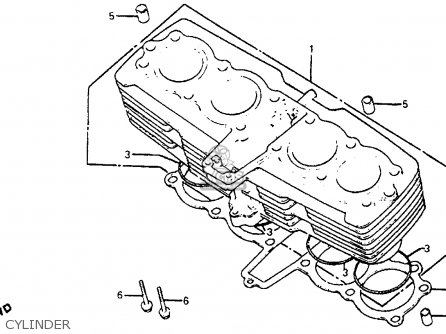 Honda Cb750sc Nighthawk 750 1983 (d) Usa parts list