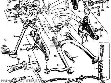 Honda CB77 SUPER HAWK 1961 USA parts lists and schematics