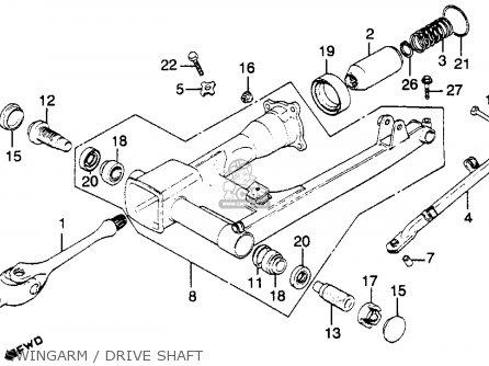 Honda Cb900c 900 Custom 1980 (a) Usa parts list