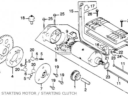 Honda Cb900c Parts Free Image About Wiring Diagram