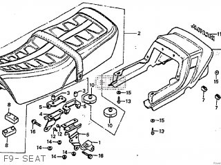 Honda CB900F 1982 (C) parts lists and schematics