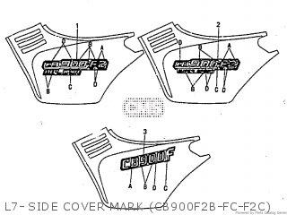 Honda CB900F 1982 (C) parts lists and schematics