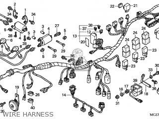Honda CB900F 2002 (2) AUSTRALIA parts lists and schematics