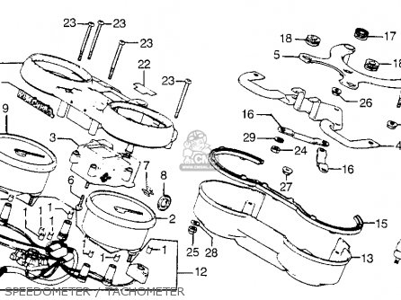 Honda CB900F 900 SUPER SPORT 1981 (B) USA parts lists and