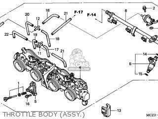 Honda CB900F HORNET 2002 (2) EUROPEAN DIRECT SALES parts