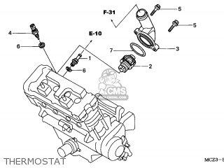 Honda CB900F HORNET 2003 (3) NETHERLANDS parts lists and