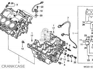 Honda CB900F HORNET 2004 (4) EUROPEAN DIRECT SALES parts